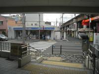 JR美章園駅前