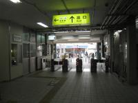 JR美章園駅改札口