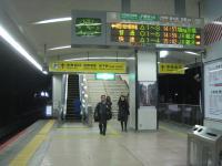 JR天王寺駅2Fへの階段