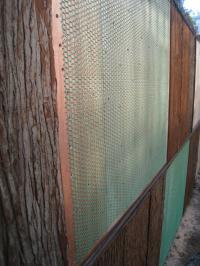 おどりの市松模様の垣根2