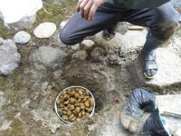 浸透ます玉砂利埋め