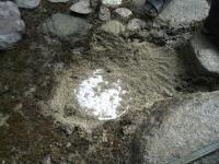 浸透ます砂撒き