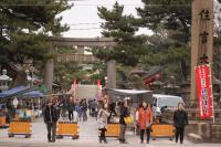 大阪住吉神社太鼓橋(反橋)