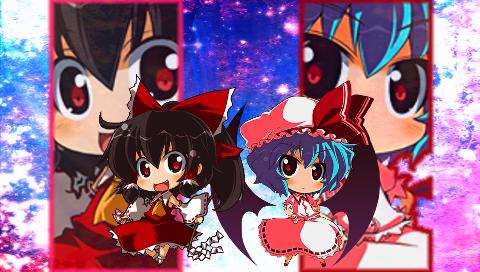 霊夢&レミリア1(PSP)