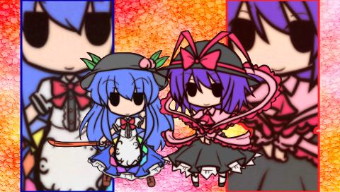 天子&衣玖2(PSP)