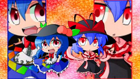 天子&衣玖1(PSP)