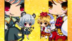 ナズーリン&寅丸1(PSP)