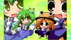 早苗&諏訪子1(PSP)