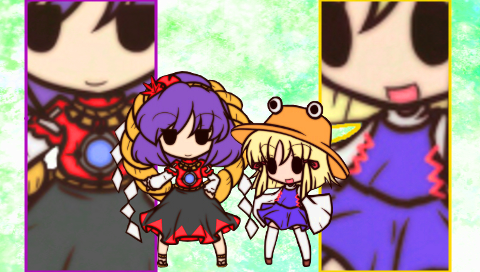 東方風神録2(PSP)