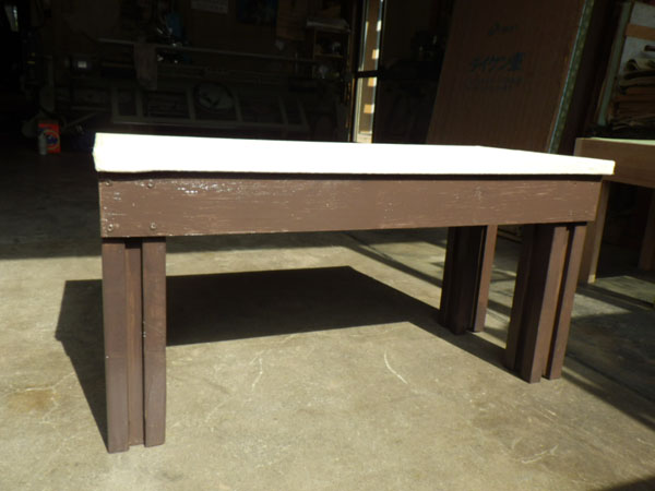 2013年6月 大沢畳店 廃材で作る畳イス