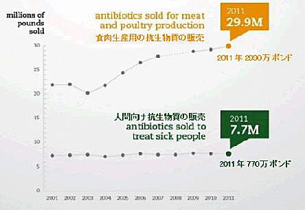 抗生物質使用量
