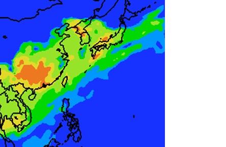 3月8日9時PM2.5