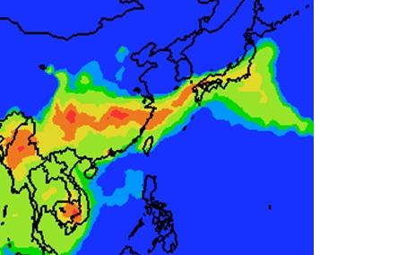 3月10日12時PM2.5