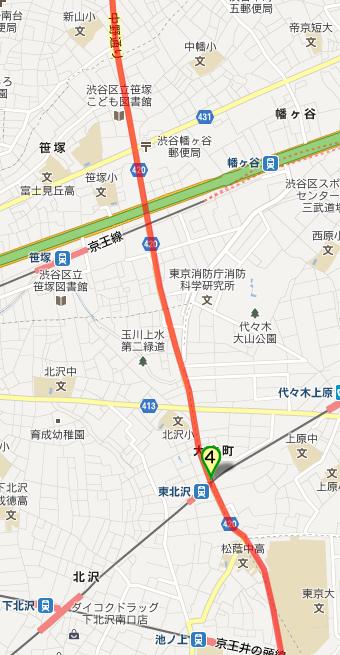 補助26号線 東北沢-笹塚