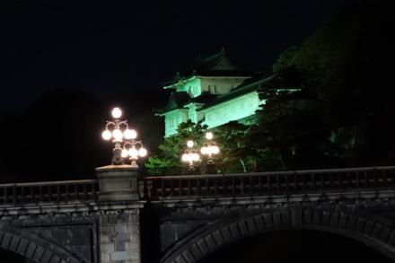 皇居ライトアップ