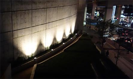 天空庭園夜