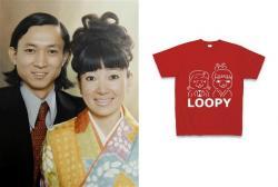 鳩山夫妻とルーピーTシャツ