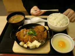 牡蛎Fry定食 (6)