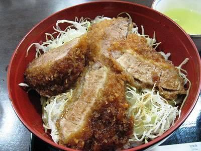 ソースひれかつ丼1