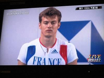 世界陸上 クリストフ・ルメートル選手