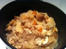 男でも作れる簡単節約料理生活-炊き込みご飯