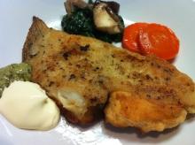 男でも作れる簡単節約料理生活-カレイのムニエル