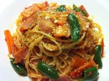 男でも作れる簡単節約料理生活-ナポリタン