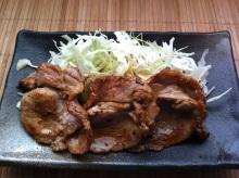 男でも作れる簡単節約料理生活-豚肉のしょうが焼き