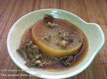 男でも作れる簡単節約料理生活-豚大根