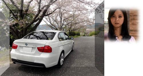 桜とE90&Nozomi kai