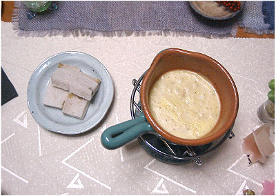 チーズフォンデュー3