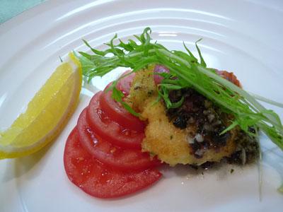 シューポッポ フルーツトマトのミラネーゼ