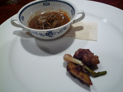 蓮華さん ごぼうのスープ