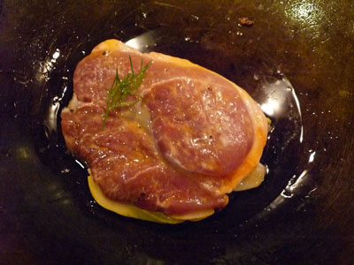 豚ロース肉揚げ焼き