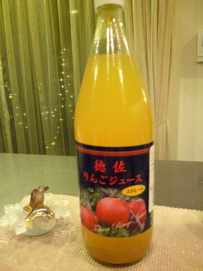 徳佐りんご園のジュース