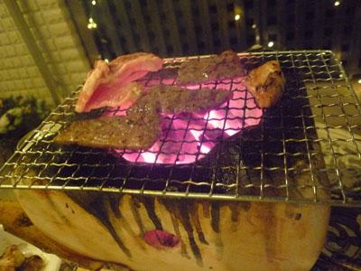焼き肉。。。鶏はこどもよう