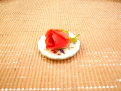 薔薇のサラダ食用薔薇