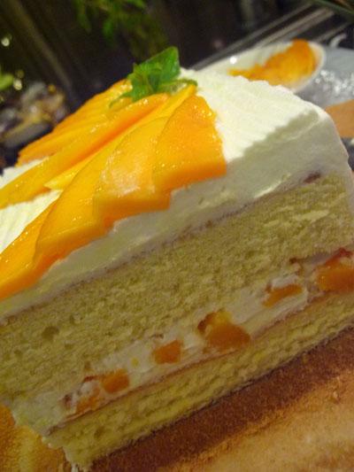 マンゴーのケーキ2