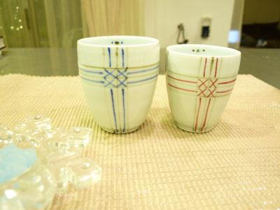初めての夫婦茶碗