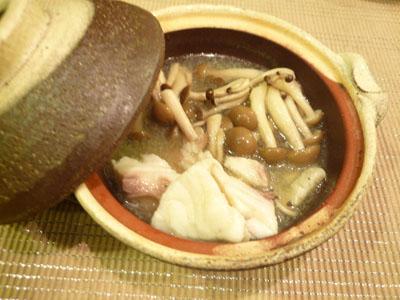 チヌのフュメドポワソン鍋
