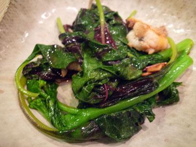 中国野菜なのはな海老