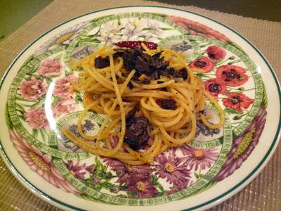 イタリア野菜トリュフのカルボナーラ