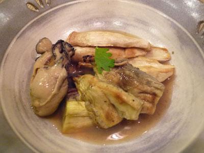 牡蛎ポン酢和え