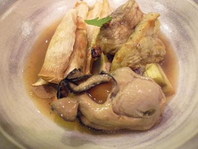 牡蛎ポン酢