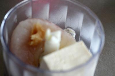豆腐と鯛。。。切ろうよ