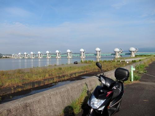 長良川川上り 長良川河口堰