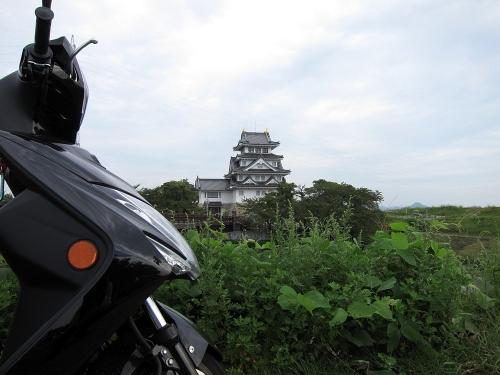 長良川川上り 墨俣城