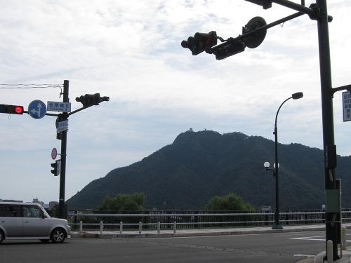 長良川川上り 岐阜城