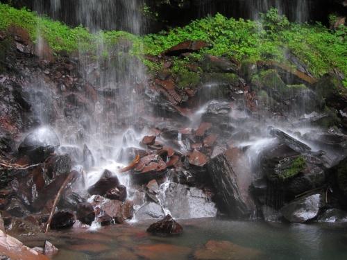 長良川川上り 長良川源流 夫婦滝