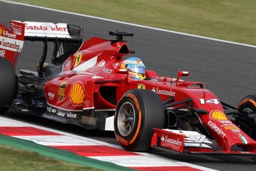 2014F1日本GP予選